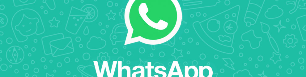 banner com logo whatsapp